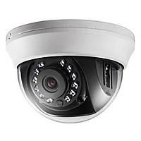 Внутренняя купольная Turbo HD камера мультиформатная HDTVi Hikvision DS-2CE56D0T-IRMMF, 2Мп