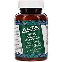Alta Health, Рослинний діоксид кремнію з біофлавоноїдами, 120 таблеток, фото 1