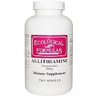 Ecological Formulas, аллитиамин (витамин В1), 50 мг, 250 капсул