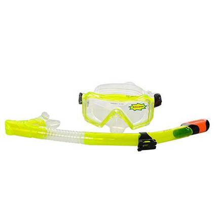 Набор для плавания D25639 маска 16-10 см трубка 41 см, фото 2