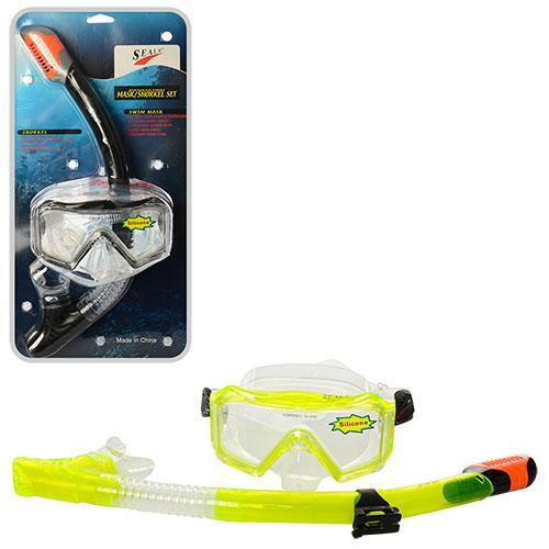Набор для плавания D25639 маска 16-10 см трубка 41 см