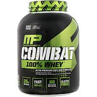 MusclePharm, Combat, 100% Whey, протеин, со вкусом шоколадного молока, 2269 г