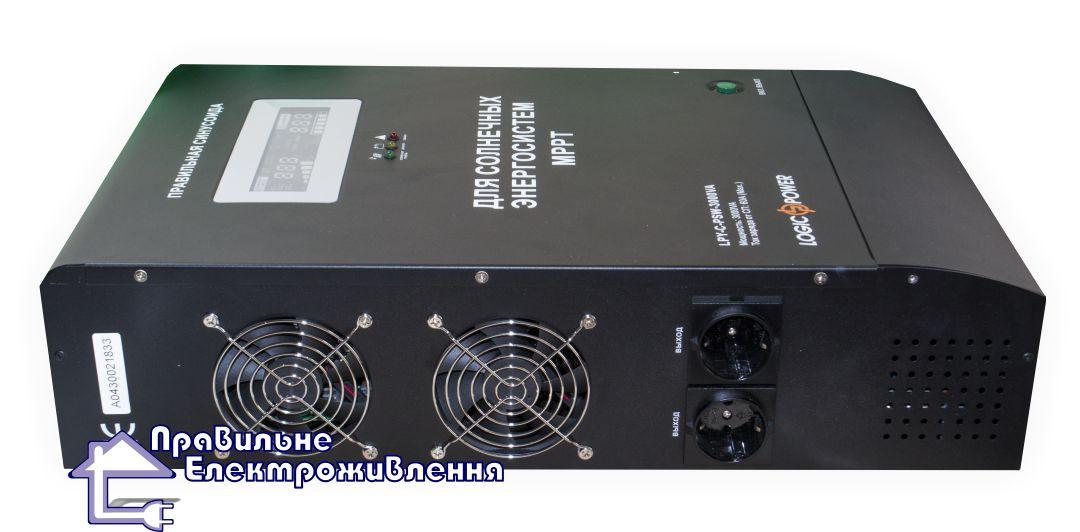 Інвертор напруги + MPPT контролер LPY-C-PSW-3000VA