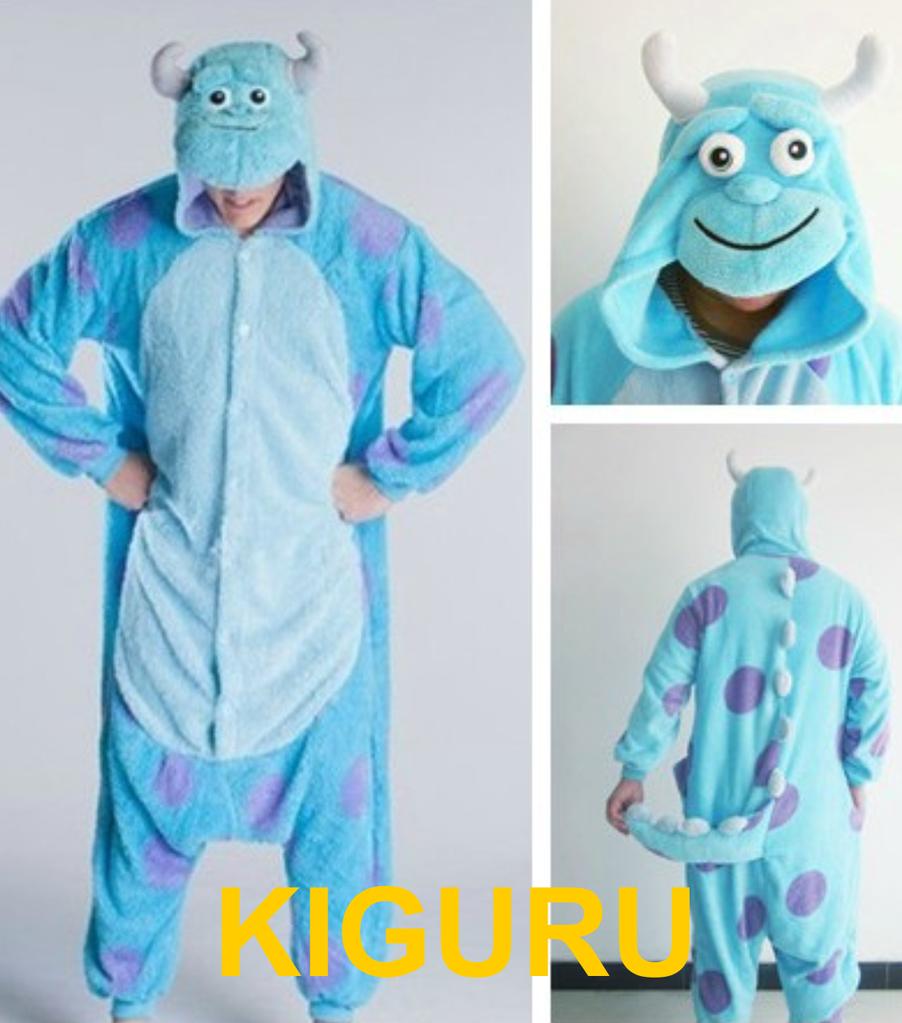 Косплей монстр Салли пижама кигуруми