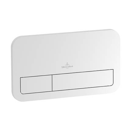 92249068 ViConnect Клавіша змиву біла, E200 253 x 145 x 62 mm, фото 2