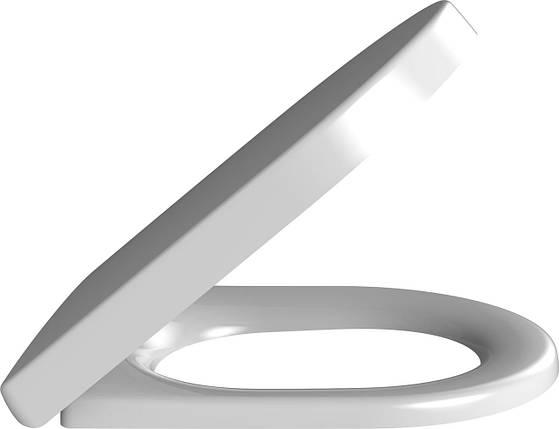 98M9C101 Omnia Architectura WC-Cидіння з кришкою з Quick Release and Soft Closing кріплення, фото 2