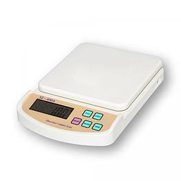 Електронні кухонні ваги 5 кг Kitchen scale SF-400A з підсвічуванням