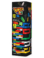 """Настольная игра """"Vega Color""""   Дженга цветная   Вега цветная   Jenga Color"""