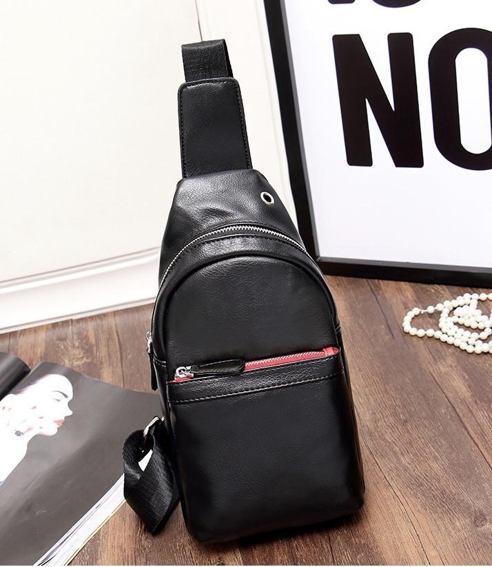 Мужская кожаная сумка. Модель 61374