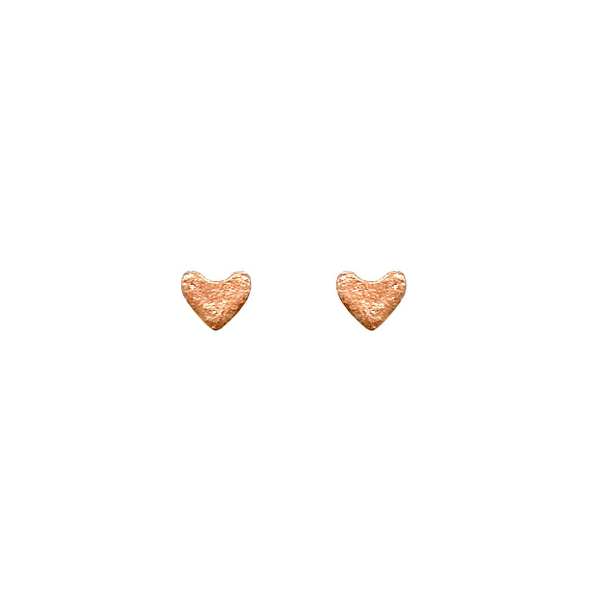 "Сережки Xuping ""Серденька"" з медичного золота, позолота 18K, 24513 (1)"
