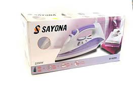 Утюг SAYONA SY-629A: керамическая подошва, подача пара, 1800 Вт, контейнер 350 мл