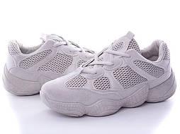 Подростковые кроссовки размеры 36 и 39 (Т. серые)