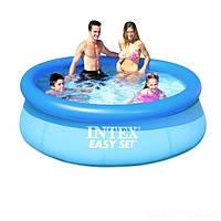 Надувной-наливной бассейн Intex 28110 Easy Set Pool, 244х76 см