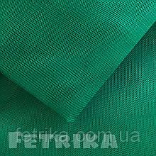 Фатин жесткий зеленый, сетка фатиновая
