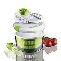 Овощерезка Salad Spinner mandoline slicer 4 in 1, фото 4