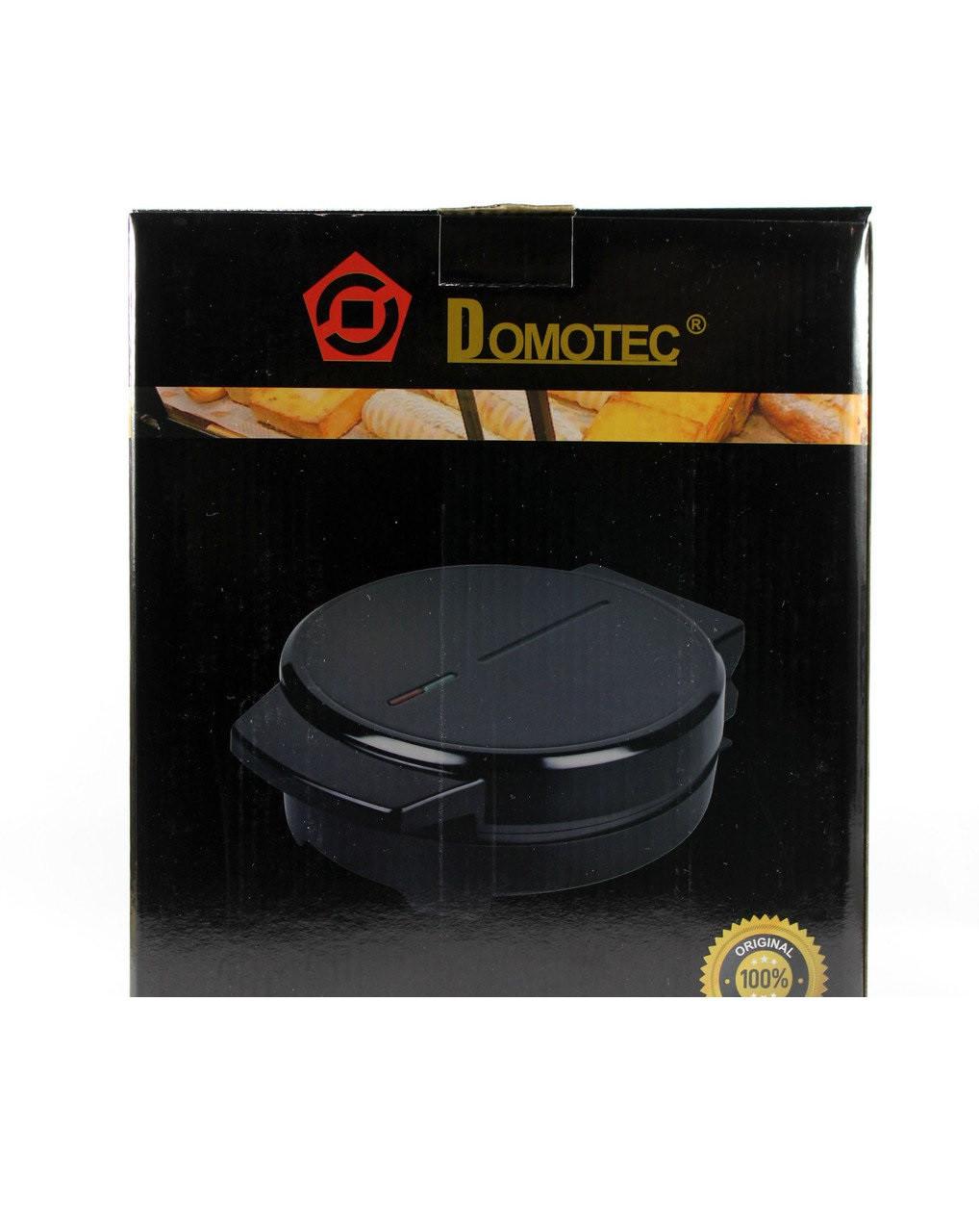 Тостер вафельница электрическая Domotec MS-7710 электровафельница