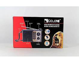 Радиоприемник Golon RX F10 портативная колонка USB /SD / MP3/ FM