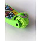 Самокат детский Scooter 03 MZ с подсветкой колес   Зеленый, фото 3