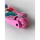 Самокат детский Scooter 03 MZ с подсветкой колес   Розовый, фото 3