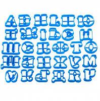 Набор выемок для пряников Русский и Украинский алфавит 3D
