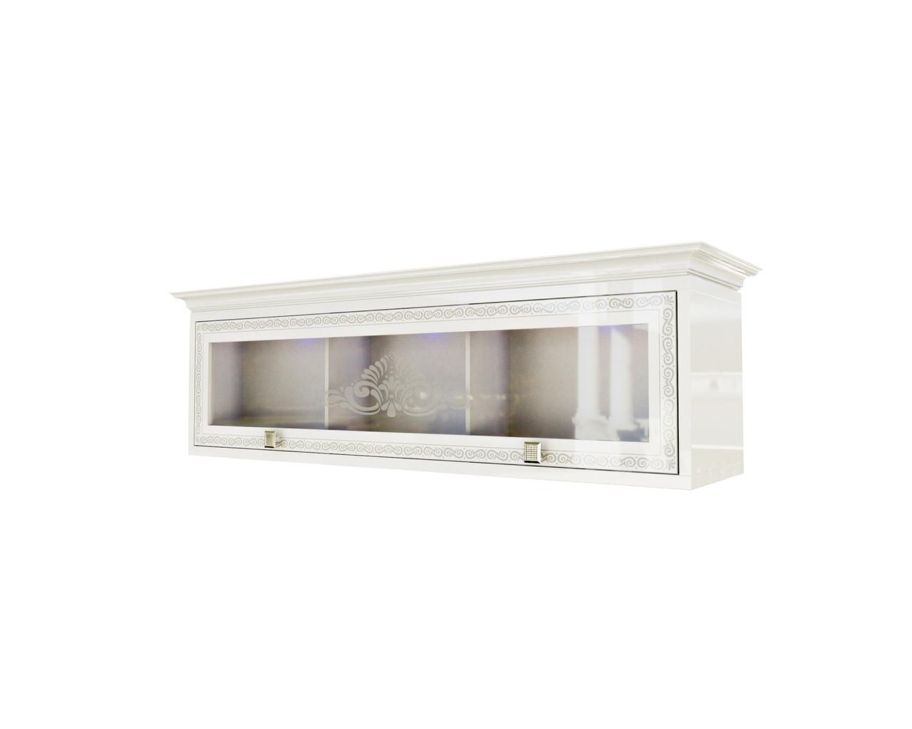 Шкаф навесной Вероника Світ меблів (белый)