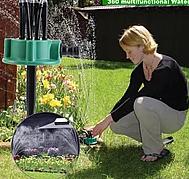 Спринклерний зрошувач 360 multifunctional Water Sprinklers розпилювач для поливу газону, фото 3