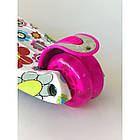 Самокат детский Scooter Pro 030 с подсветкой колес | Розовый, фото 3