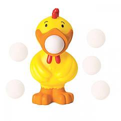 Игровой набор Стреляющий зверек Цыпленок Squeeze Popper (54311)