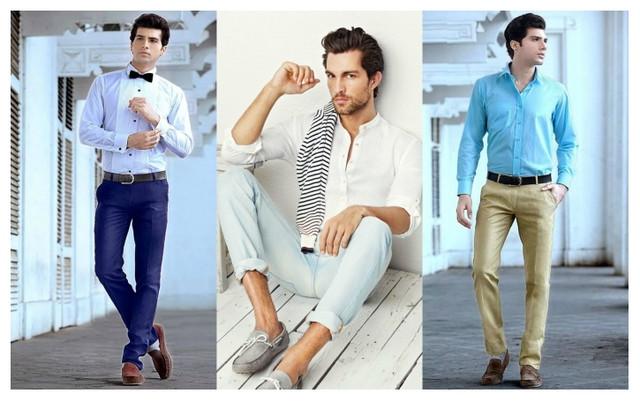 Лучшие сочетания мокасин и одежды
