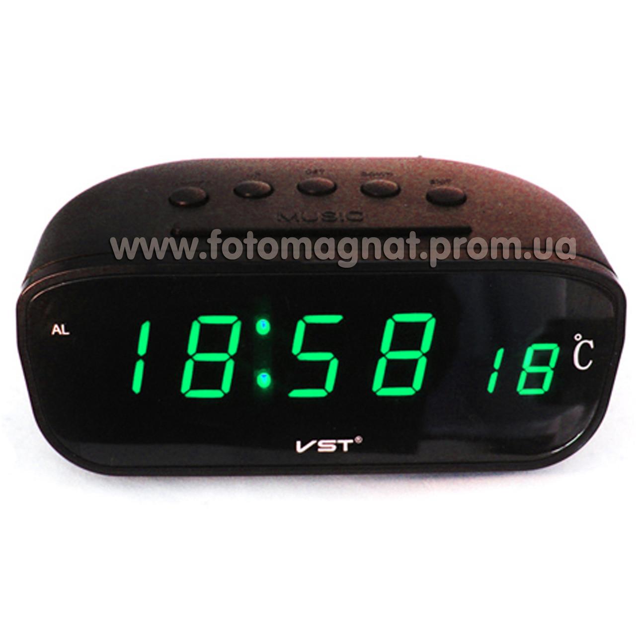 Часы сетевые  VST 803-4, Настольные электронные часы
