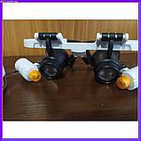 Бинокулярные очки с светодиодной подсветкой 9892 RD белые, фото 5