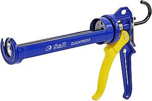 Профессиональный пистолет для герметиков и силикона S&R 278230100