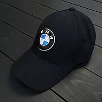 Кепка мужская, женская с логотипом BMW Черная, 1588360920