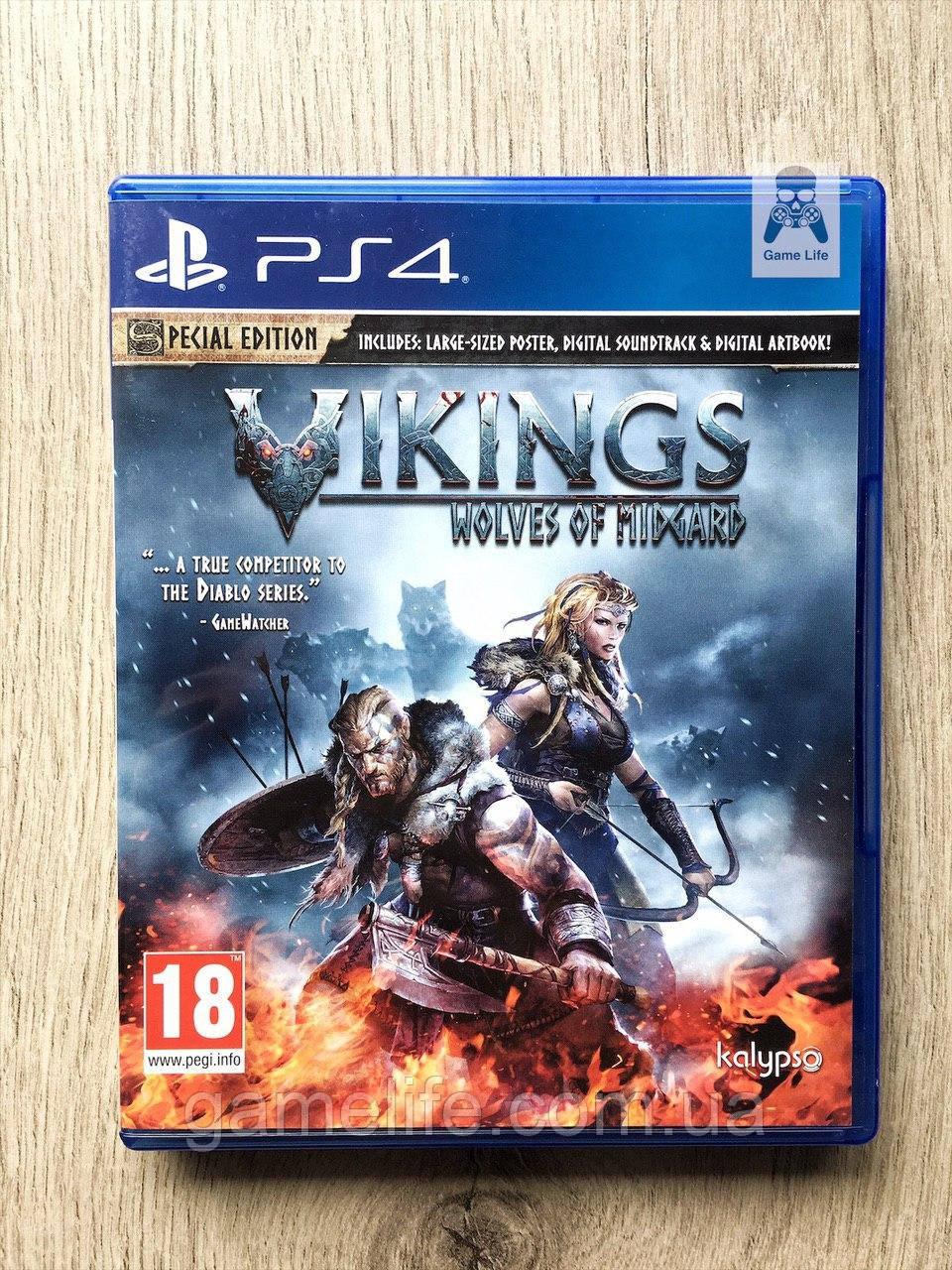 Vikings Wolves of Midgard (рус. суб.) (б/у) PS4