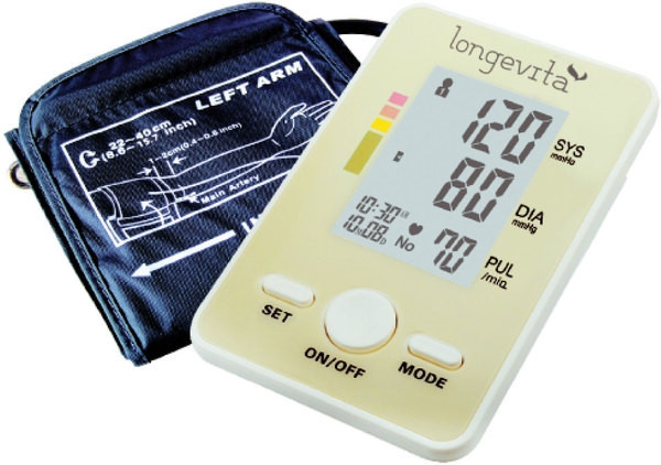 Измеритель давления автоматический Longevita BP-102 (Великобритания)