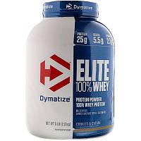 Dymatize Nutrition, Elite 100 % Whey, протеиновый порошок, со вкусом печенья со сливками, 2,3 кг