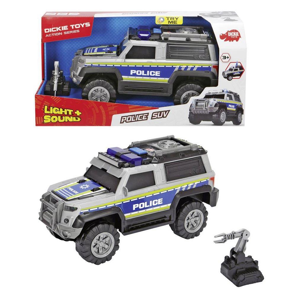 Машинка Dickie Toys Полиция с аксессуарами со звуковыми и световыми эффектами (3306003)