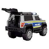 Машинка Dickie Toys Полиция с аксессуарами со звуковыми и световыми эффектами (3306003), фото 3