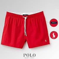 Шорты Polo Ralph Lauren Swimming Trunks красные