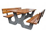 Стол садовый «Гарден» комплект со спинкой, фото 3