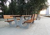 Стол садовый «Гарден» комплект со спинкой, фото 5