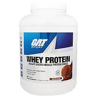 GAT, Изолят Сывороточного Протеина, Белковый Коктейль для Наращивания Мышечной Массы, Шоколад,2268 г