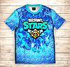 Футболка 3D дитяча Фанату Бравл Brawl Stars