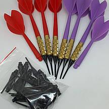 Набор дротиков дартс с пластиковыми наконечниками для игры в электронный дартс, фото 2