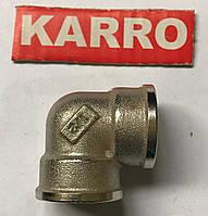 """Колено 3/4"""" В/В Karro (никель )"""