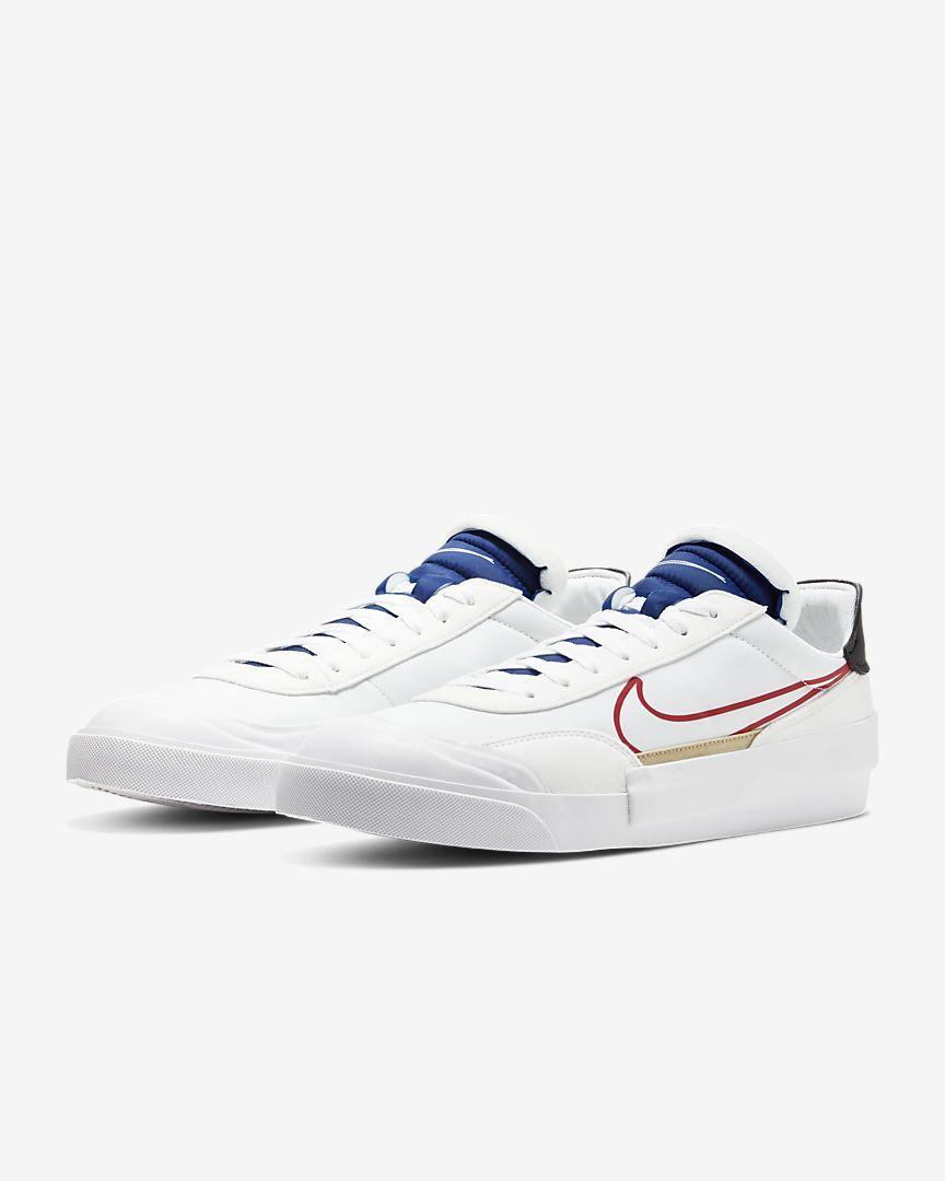 Женские кроссовки Найк белые Оригинал Nike Drop-Type HBR