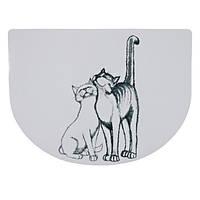 Trixie (Трикси) Place Mate Pussy Cat Коврик под миску для кошек