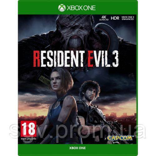 Resident Evil 3 (русская версия) (Xbox One)