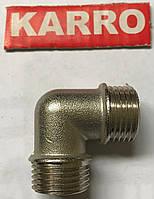 """Колено 3/4""""Н/Н Karro (никель )"""