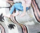 Карпатський ліжник, вовняний плед ЗОРЕПАД 150*210, фото 4